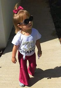 Flare Infantil Vinho Zap