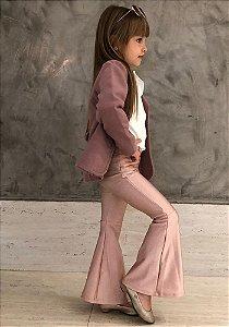 Flare Infantil Rosa Blush