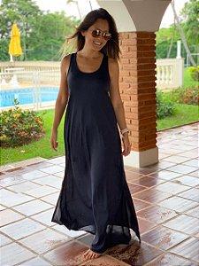 Vestido Adulto Preto