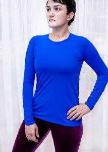 Blusa Blue com Proteção Solar Adulto
