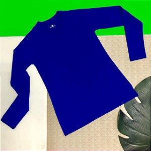T-shirt Blue com Proteção Solar Adulto