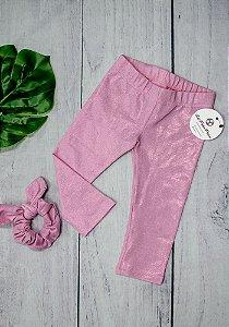 EDIÇÃO LIMITADA - Legging Infantil Rosa Confetti