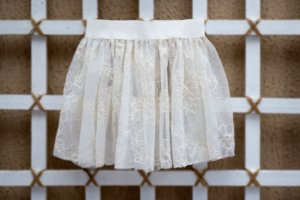 Saia Tutu Off White