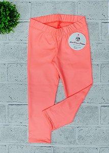 Legging Infantil Cirre Coral Neon