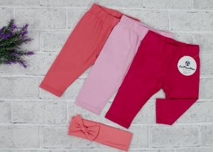Kit Legging Baby Pink