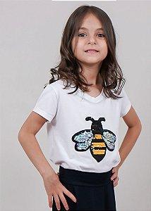 T-shirt Infantil Abelha