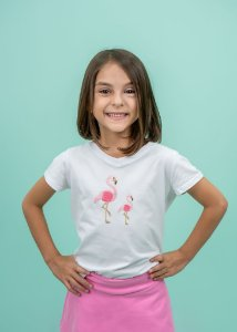 T-shirt Infantil Flamingo