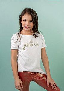 T-shirt Infantil Princess