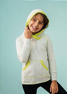 Moletom Com Capuz Infantil Verde