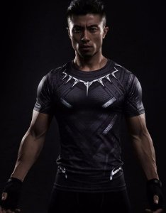 Camisa Pantera Negra - Guerra Infinita