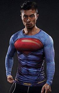 Camisa Superman - Liga da Justiça