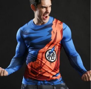 Camisa Goku Batalha Manga - Dragon Ball Super