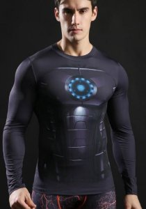 Camisa Homem de Ferro Black II