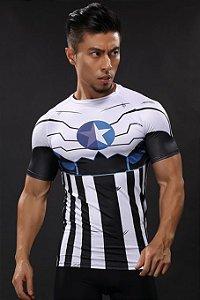 Camisa HQ Novíssimo Capitão América