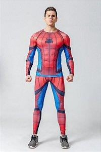 Conjunto Calça Homem Aranha Spider Man
