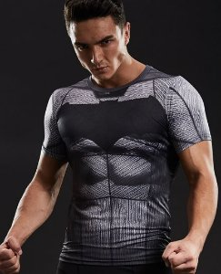 Camisa Batman - Liga Da Justiça