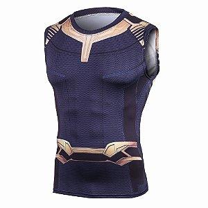 Camisa Thanos Guerra Infinita Regata