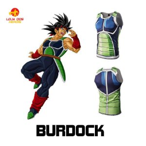 Camisa Bardock - Dragon Ball