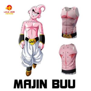 Camisa Majin Boo - Dragon Ball Z