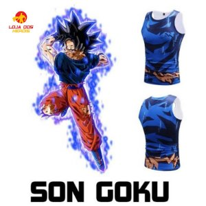 Camisa Goku - Migatte No Gokui - Dragon Ball Super