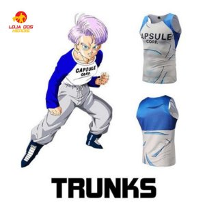 Camisa Trunks Do Futuro - Dragon Ball Super