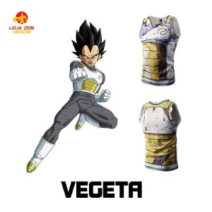 Camisa Vegeta - Batalha - Dragon Ball Super