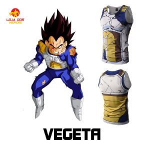 Camisa Vegeta - Batalha - Dragon Ball Z