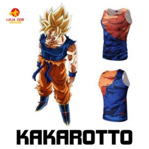 Camisa Goku - Batalha - Dragon Ball Z