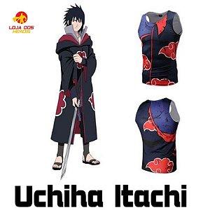 Camisa Itachi Uchiha - Batalha - Naruto Shippuden