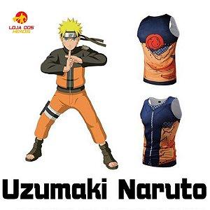Camisa Naruto Uzumaki - Batalha