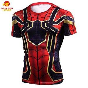 Camisa Aranha De Ferro - Guerra Infinita