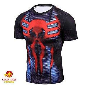 Camisa Compressão Homem Aranha