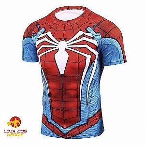Camisa Spider Man jogo 2018