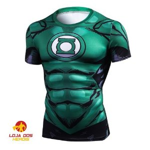 Camisa Lanterna Verde Desenho