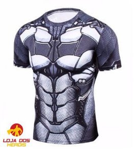 Camisa Compressão Batman - Metal