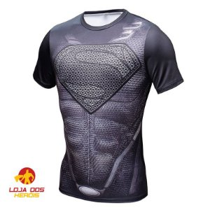 Camisa Superman - Black Suit