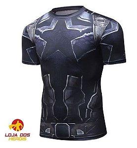 Camisa Capitão América - Vingadores Guerra Infinita