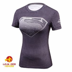 Superman Black - Feminina