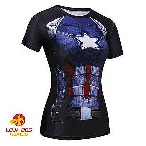 Capitão América Edição Especial - Feminina