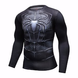 Modelo Homem Aranha Black