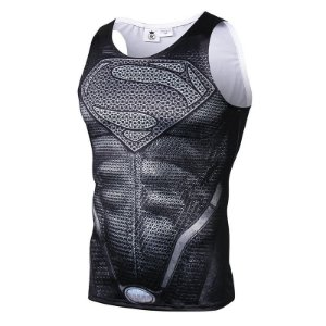 Regata Superman Black Suit