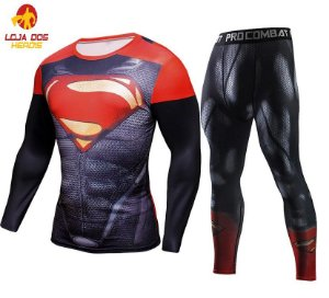 Conjunto Calça Superman Red
