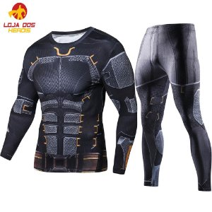 Conjunto Calça Batman Liga Da Justiça