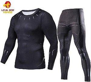 Conjunto Calça Pantera Negra Clássico