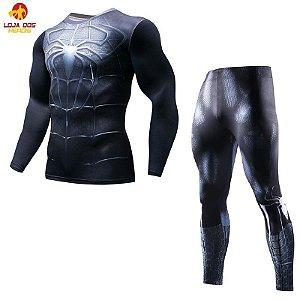 Conjunto Calça Homem Aranha Black