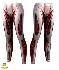 Calça Titâ Fêmea - Attack On Titan