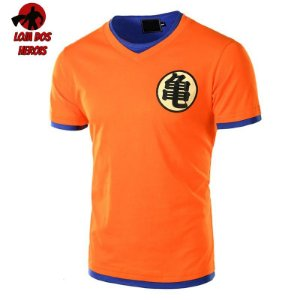 Camisa Goku Clássica - Dragon Ball