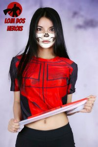 Camisa Feminina Deadpool