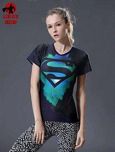 Camisa Feminina Superman Edição Especial