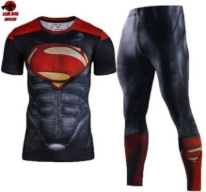 Conjunto Calça Superman Red Curta